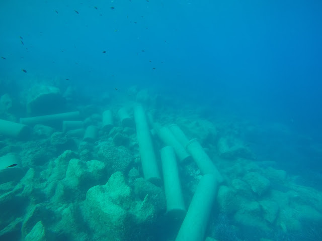 The mystery around shipwreck of columns and sarcophagi in Greece