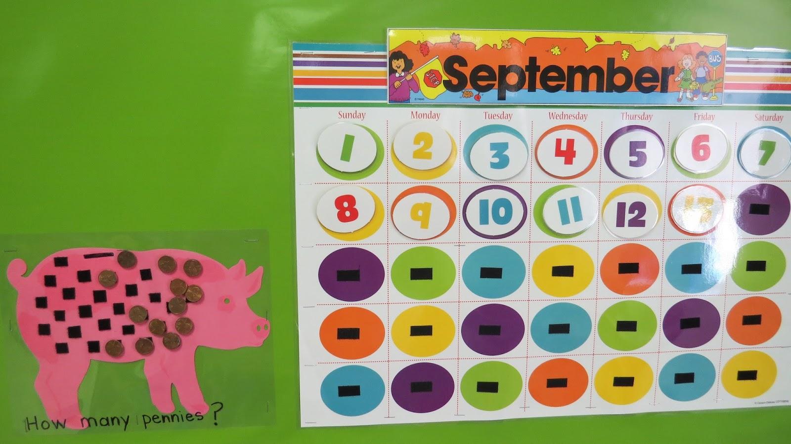 Prek My Style Meaningful Calendar Math Prek Style