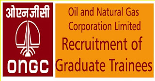 Graduate trainee at ONGC