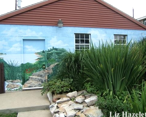 sea theme house painting idea