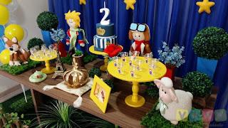 Decoração festa infantil O Pequeno Príncipe
