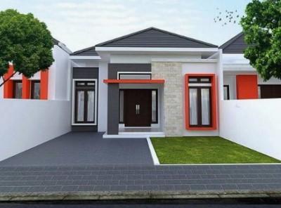 macam macam model rumah sederhana tampak depan