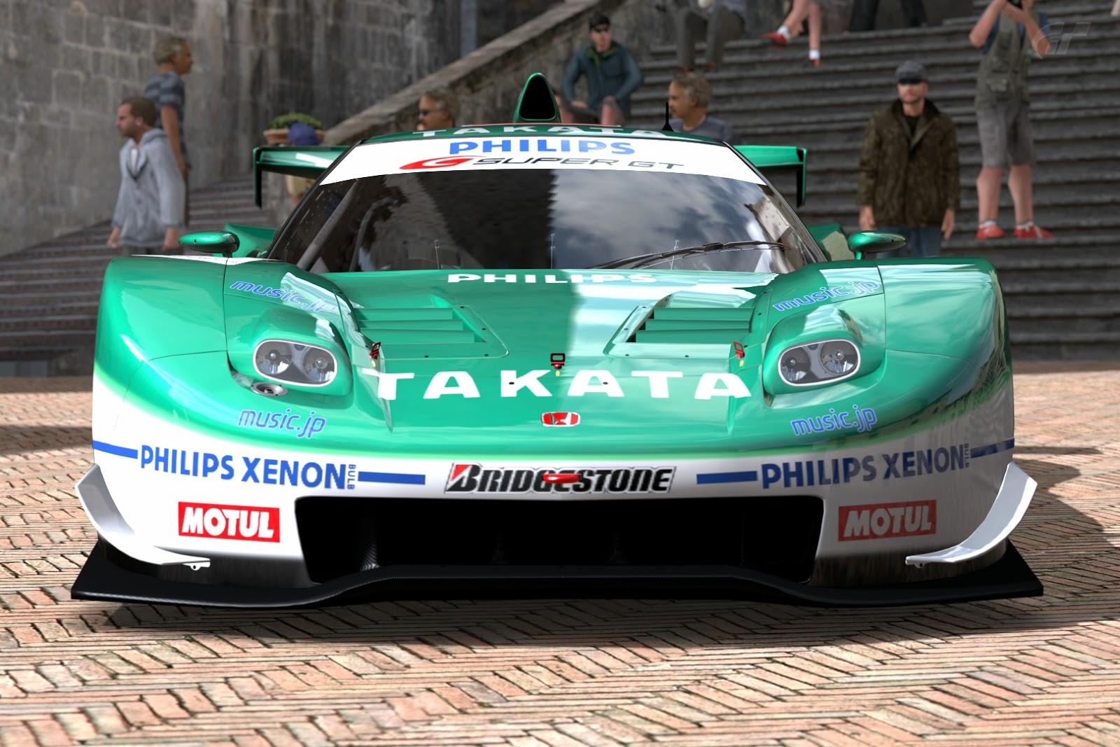 Gran Turismo Photo Dump: GT5 2006 Honda Takata Dome NSX