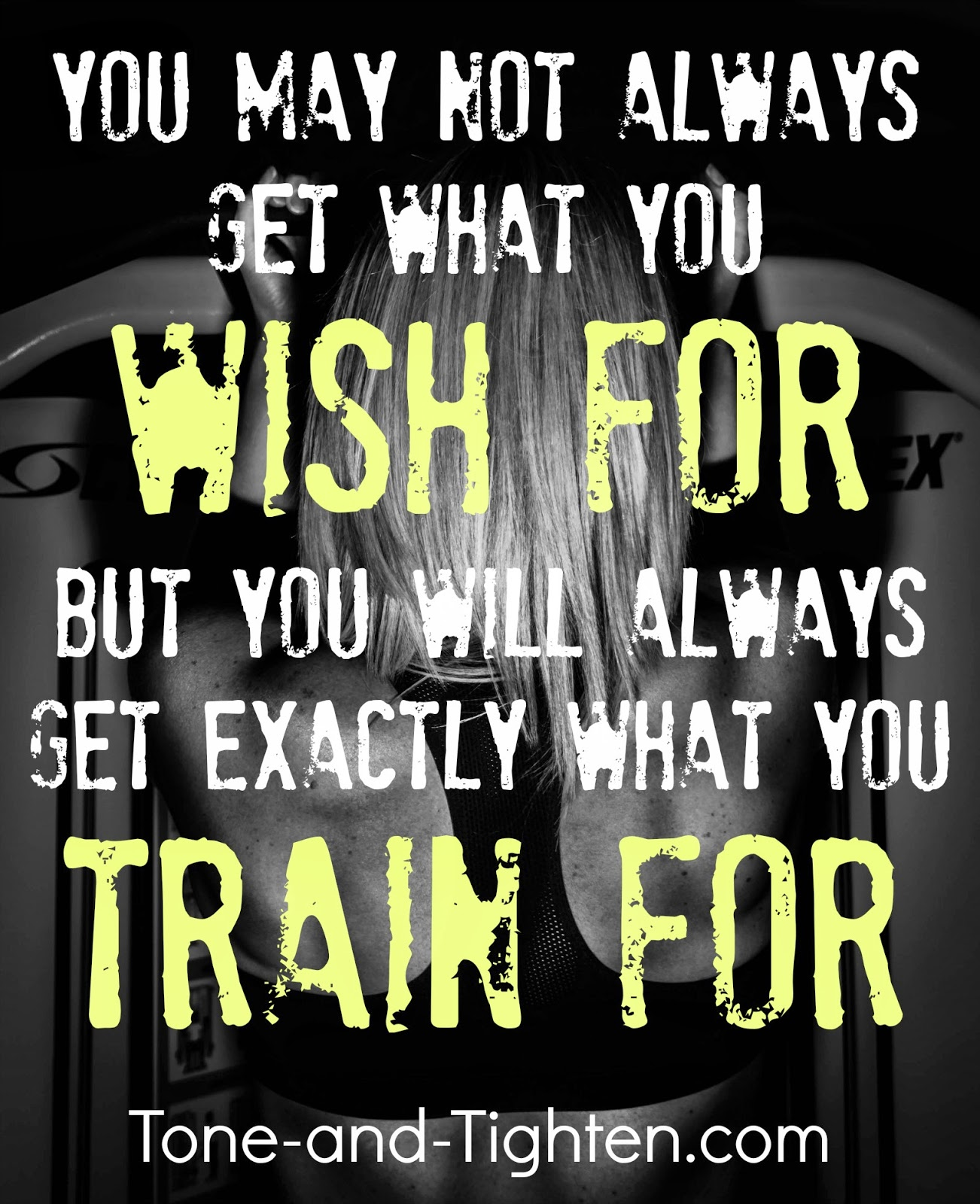 Love Quotes About Life: You Will Always Get What You Train