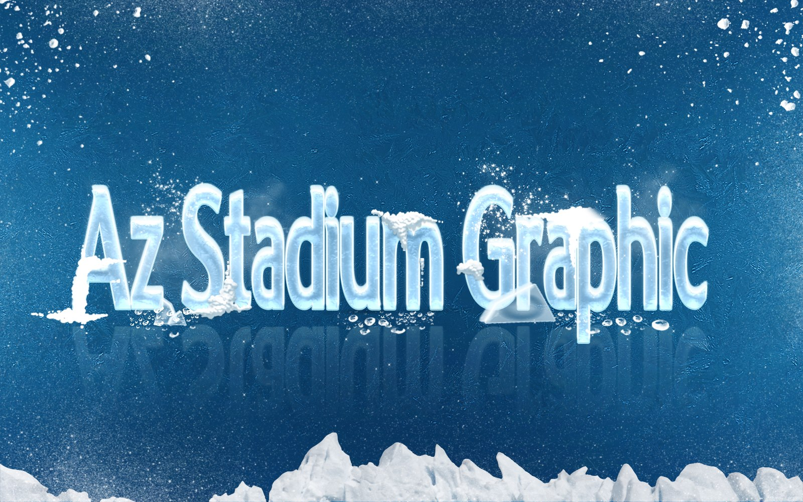 Az Stadium Winter Graphic For PES 2017 by Reda Ghazal