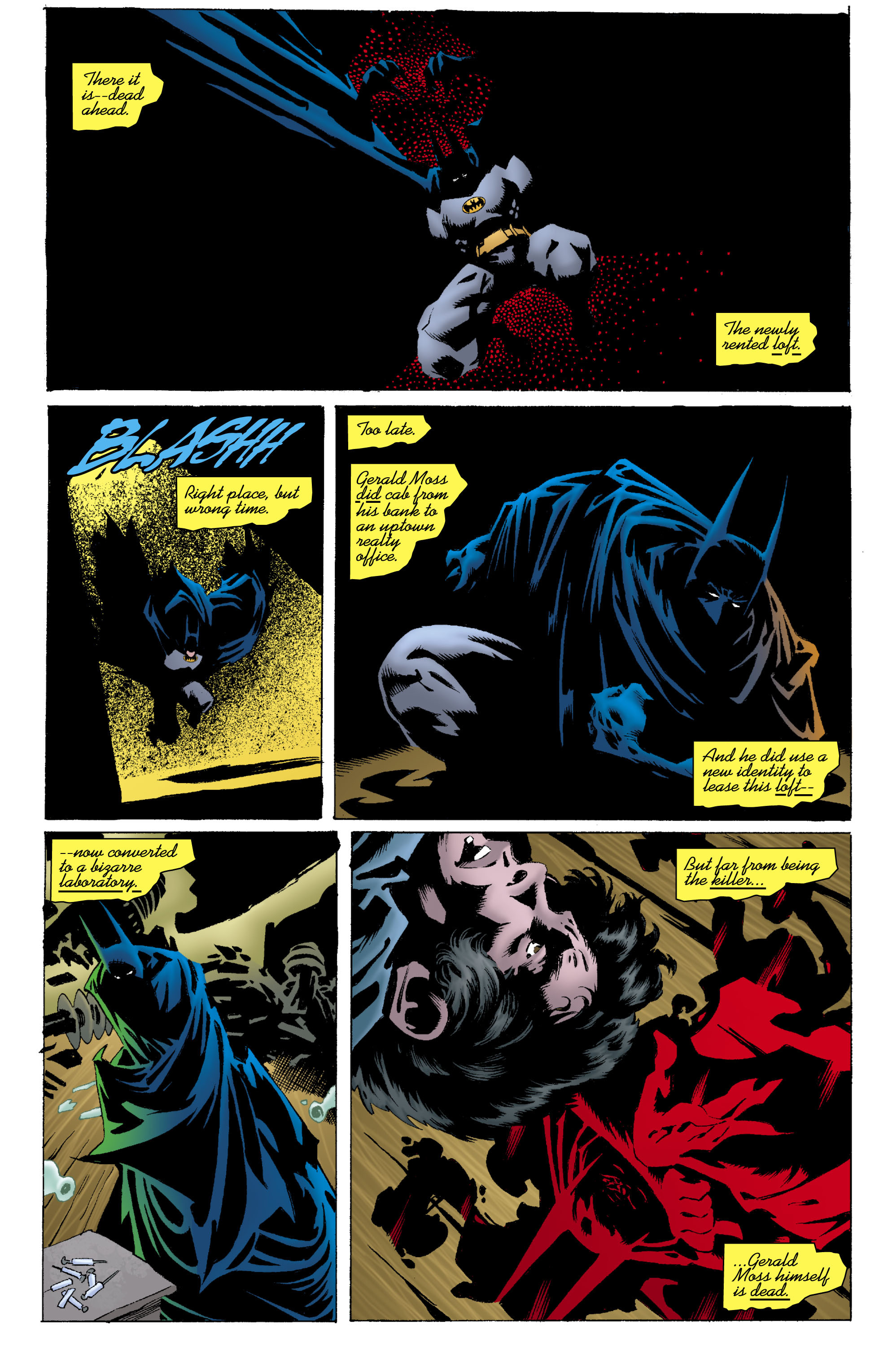 Read online Batman: Unseen comic -  Issue #2 - 20