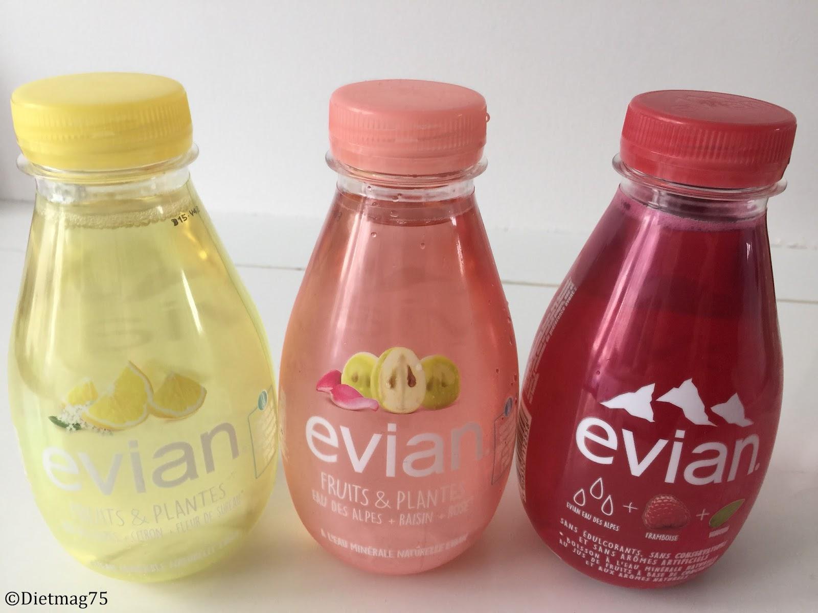 Assez Evian Fruits & Plantes | DietMag75 VK39