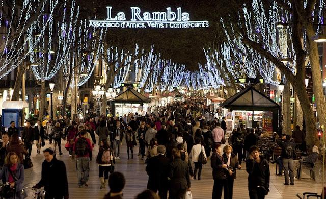 Melhor época para compras em Barcelona