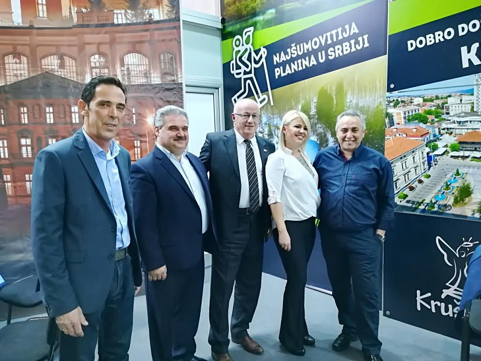 Τουριστική συνεργασία Δήμου Βόλβης και Περιφέρειας Νις