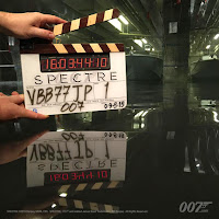 SPECTRE Clapperboard Pushing the Boat out