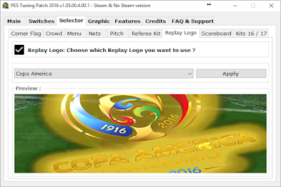 PES 2016 PES Tuning Patch 2016 v1.05.00.4.00.1 All In One