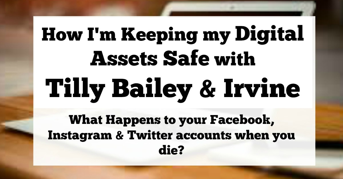 How I'm Keeping my Digital Assets Safe with Tilly Bailey & Irvine