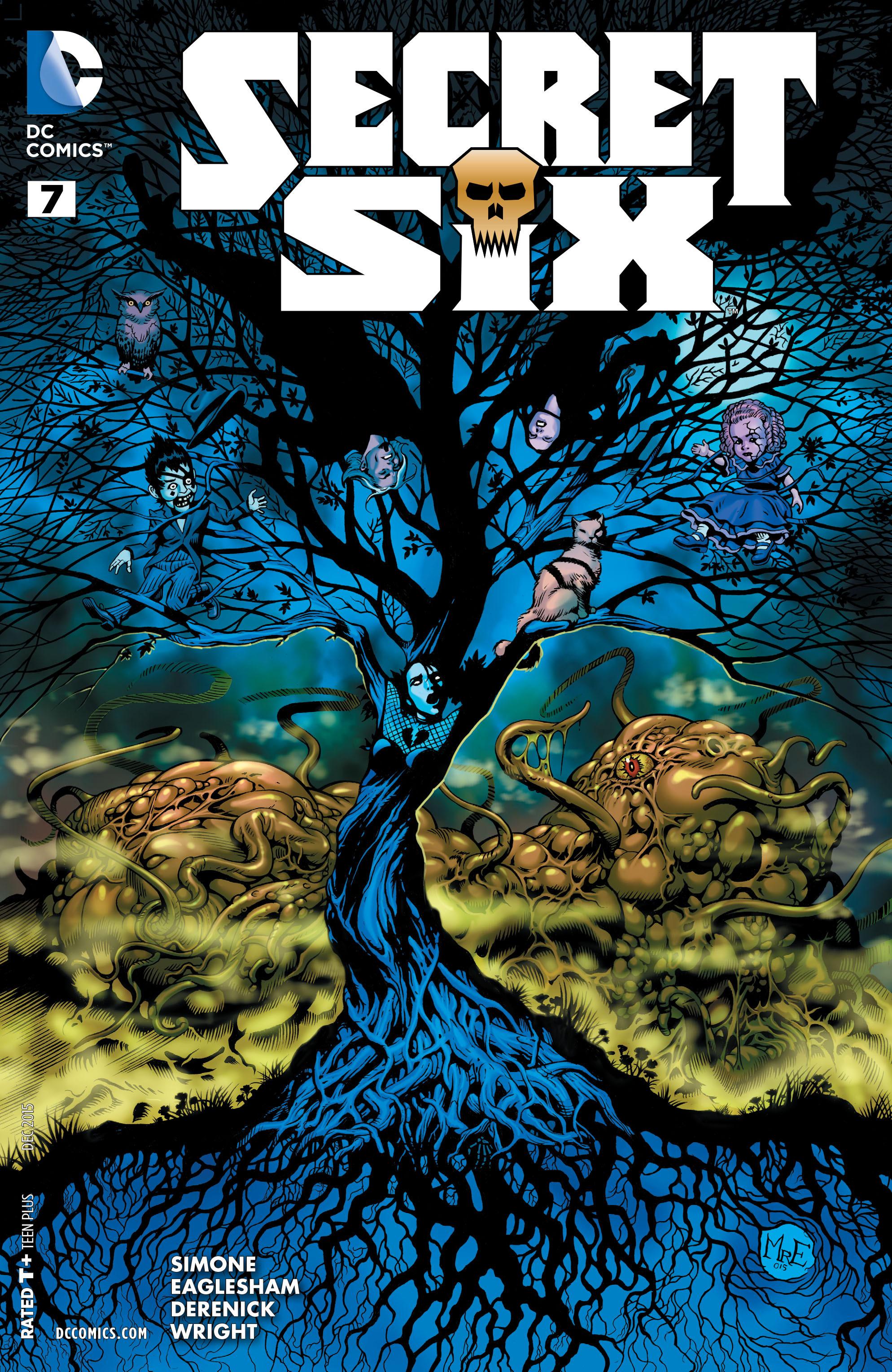Read online Secret Six (2015) comic -  Issue #7 - 1