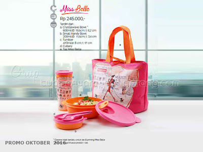 Miss Belle  ~ Tupperware Promo Oktober 2016
