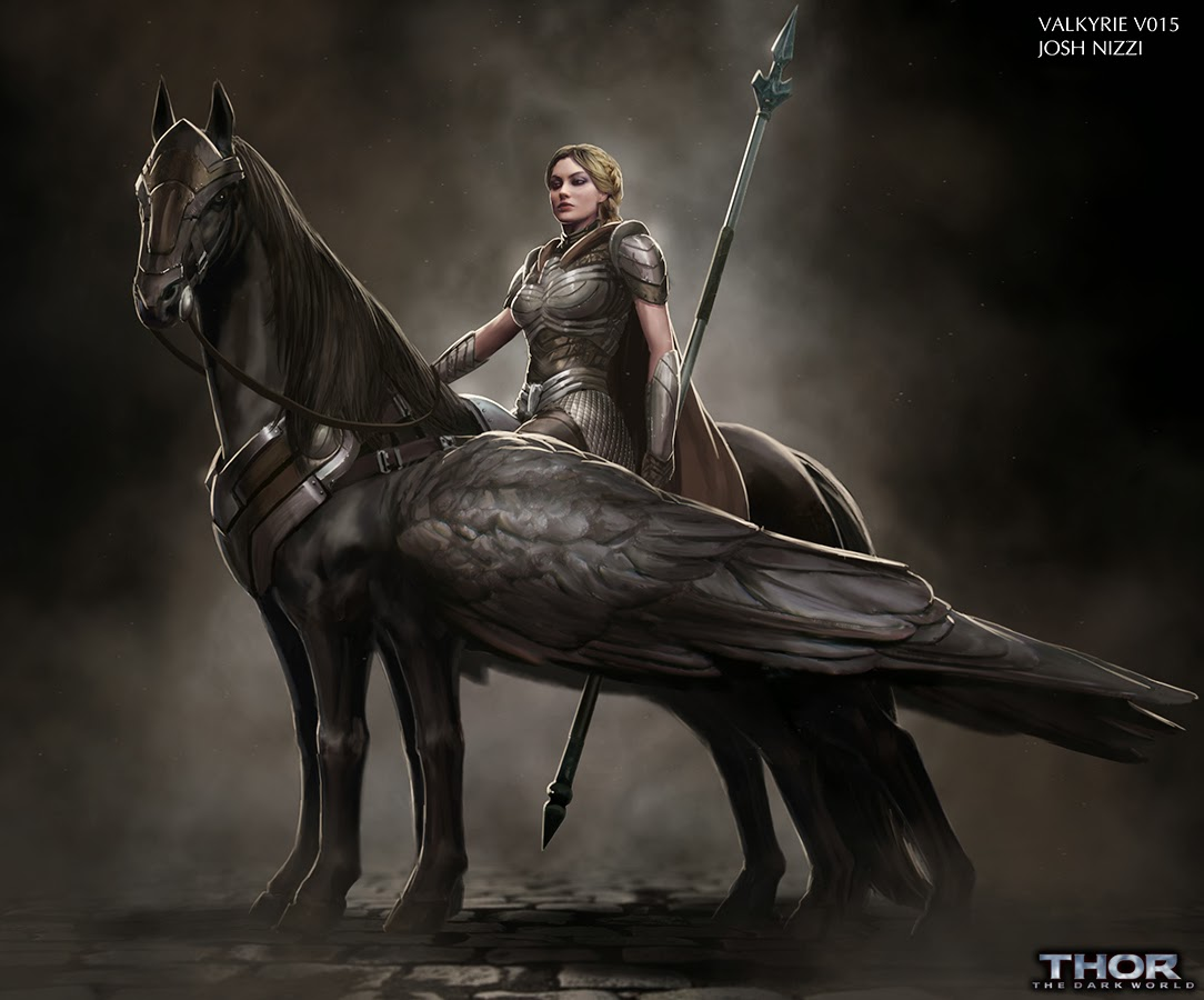 Unused THOR: THE DARK WORLD Valkyrie Concept Art by Josh ...