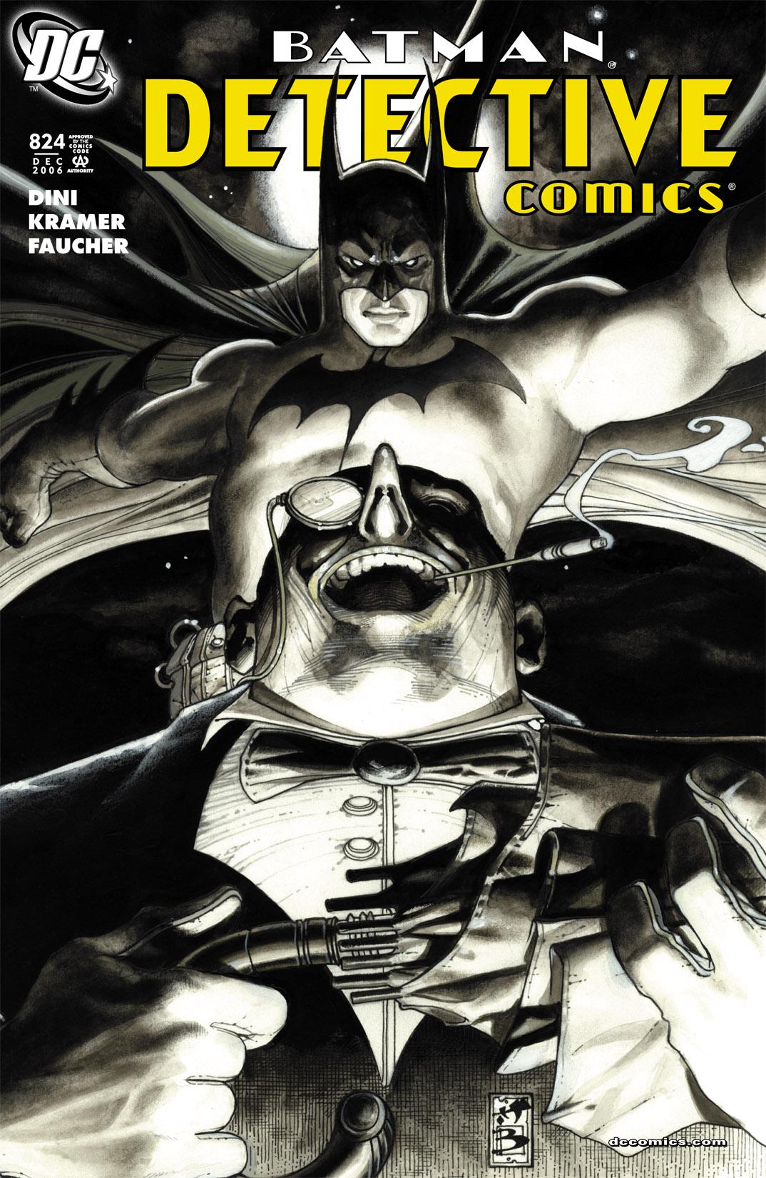 Detective Comics (1937) 824 Page 1