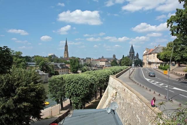 Río Mosela, Metz