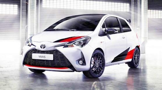 2019 Toyota Yaris Highlights