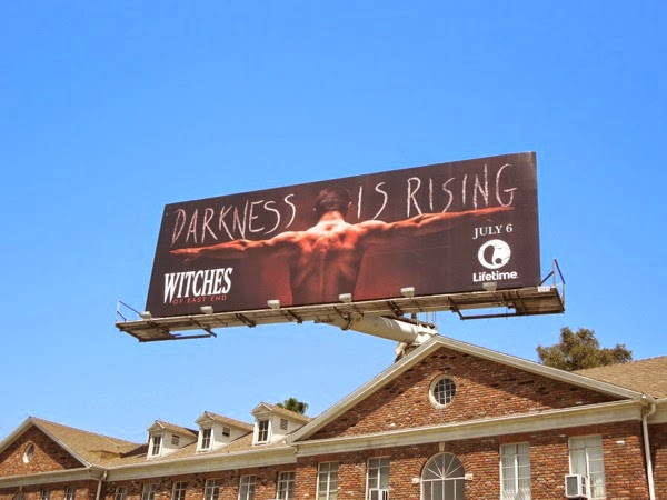 Witches of East End season 2 teaser billboard