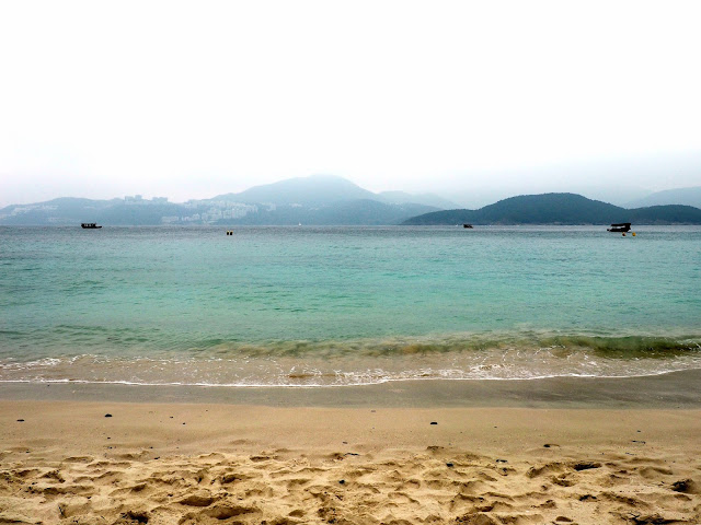 Hap Mun beach on Sharp Island, Hong Kong