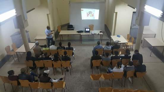 جمعية المواهب تنظم ورشات حقوقية من تأطير الأستاذ جلال لعناية