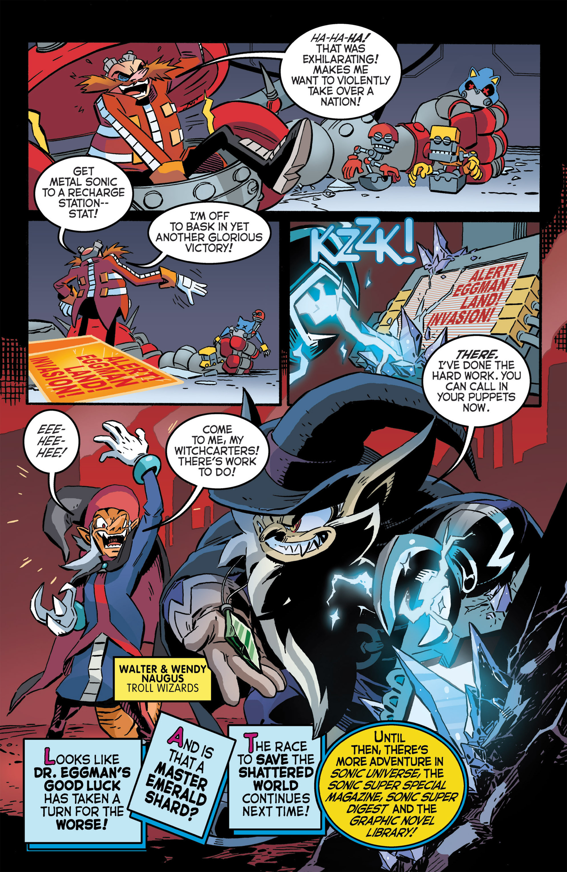 Read online Sonic The Hedgehog comic -  Issue #276 - 22