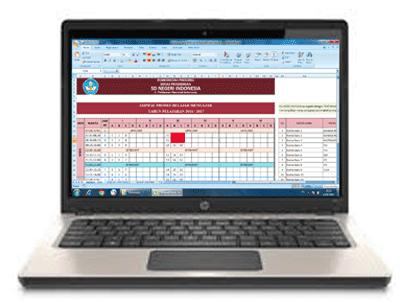 Unduh Aplikasi Jadwal Pelajaran Semua Jenjang Format Xls