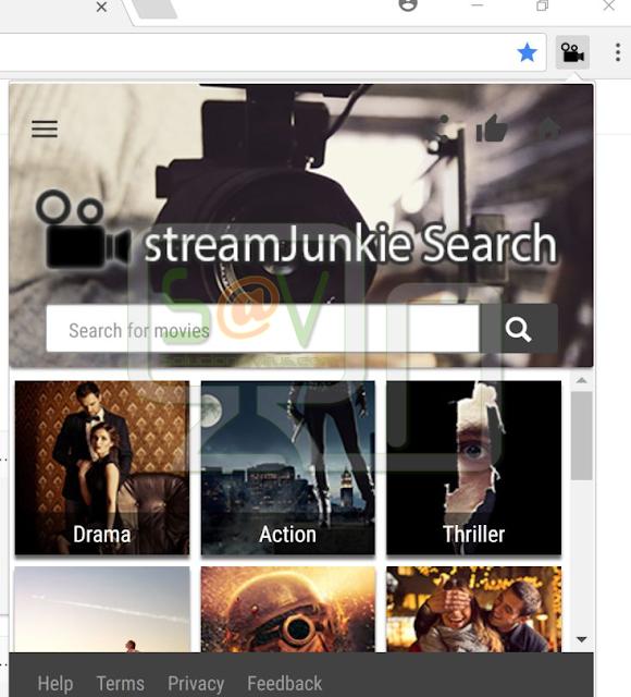 StreamJunkie Search (Extensión)