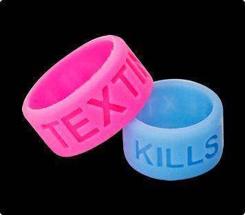 texting thumb bands no