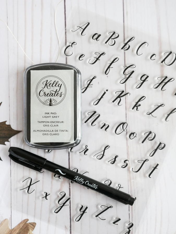 Hand Lettered Tags the Cheatin' Way with Kelly Creates | @jamiepate for @kellycreates @americancrafts