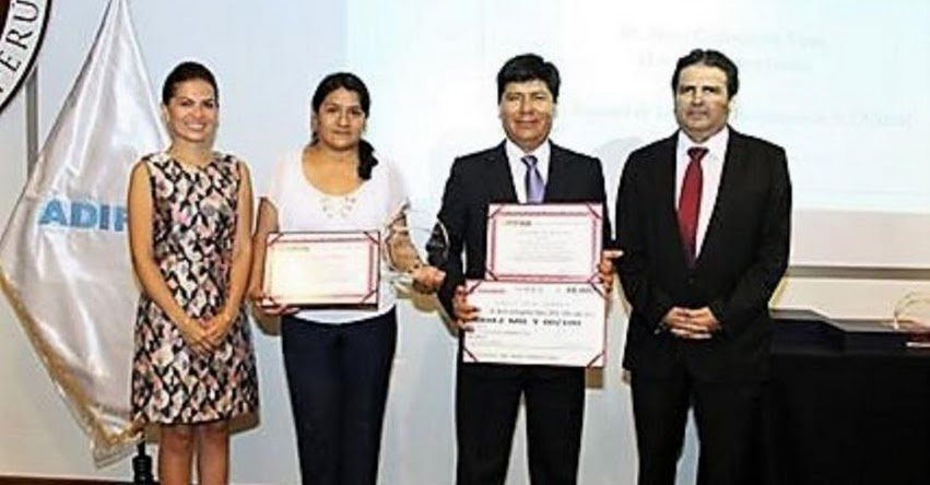 Científicos de Ayacucho, Trujillo y Lima ganan premio «ADIFAN» a la Innovación en Ciencias y Tecnología Farmacéutica