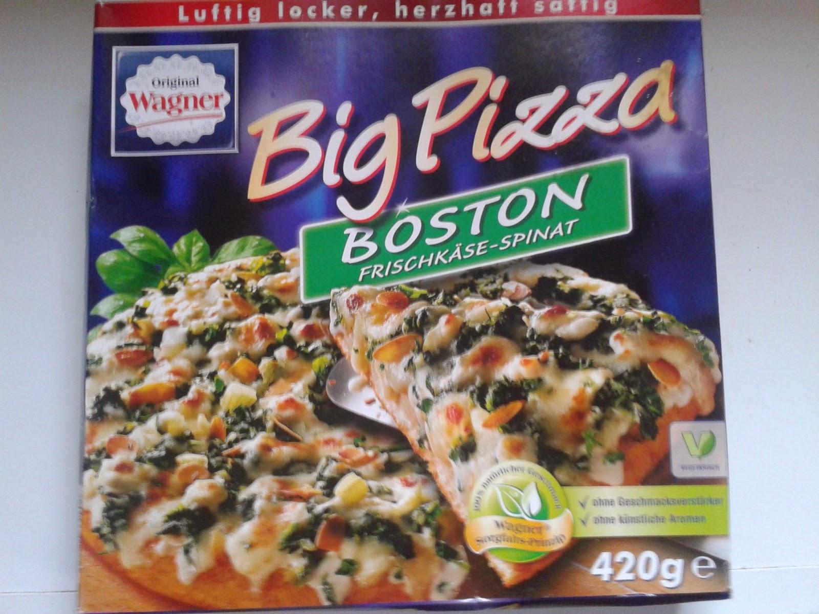 Wagner Big Pizza, Tiefkühlpizza, Fertigpizza