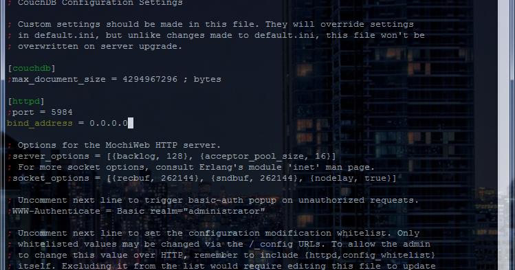 Installing CouchDB 1 2 on CentOS 6