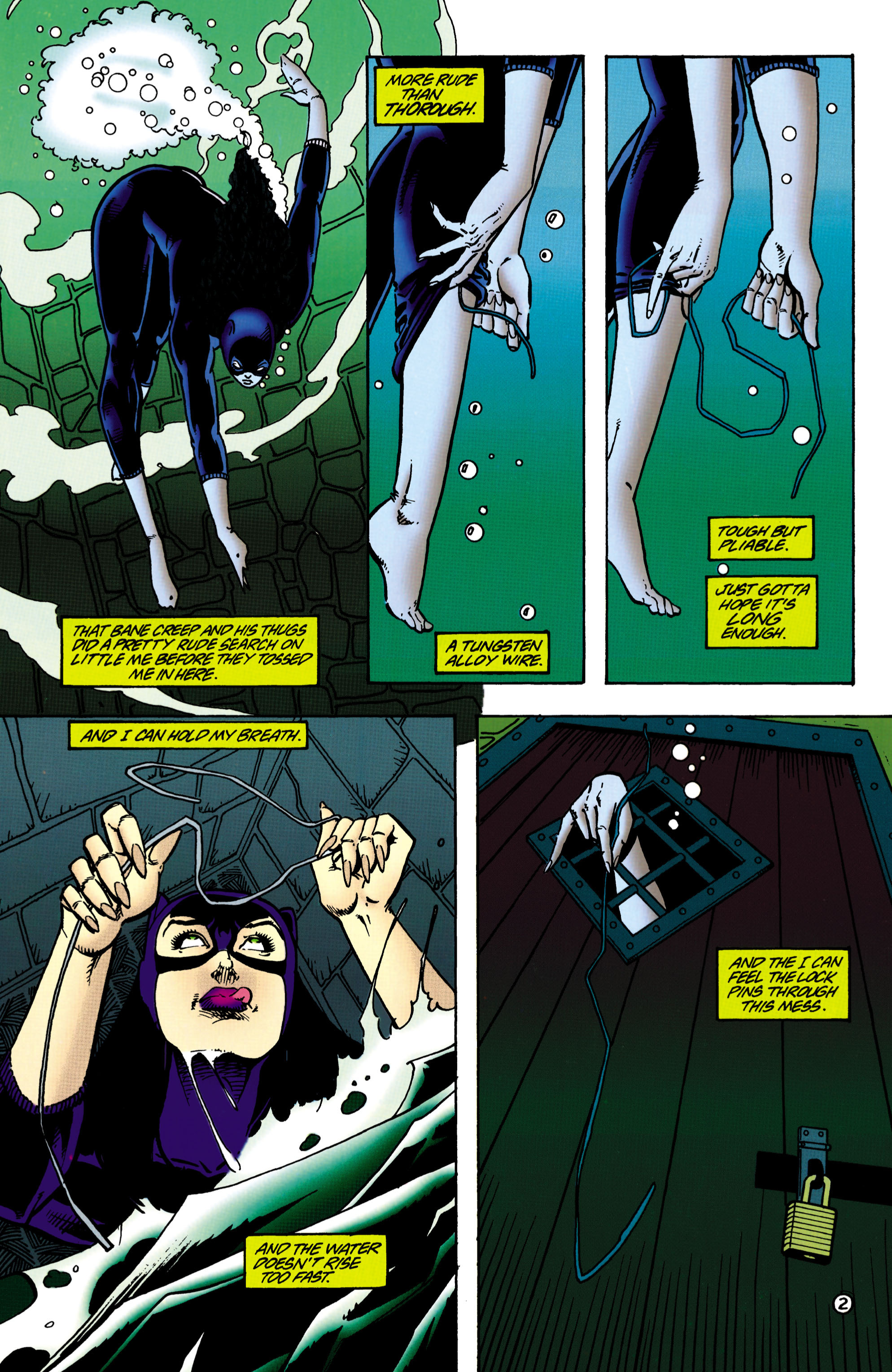 Catwoman (1993) Issue #36 #41 - English 3