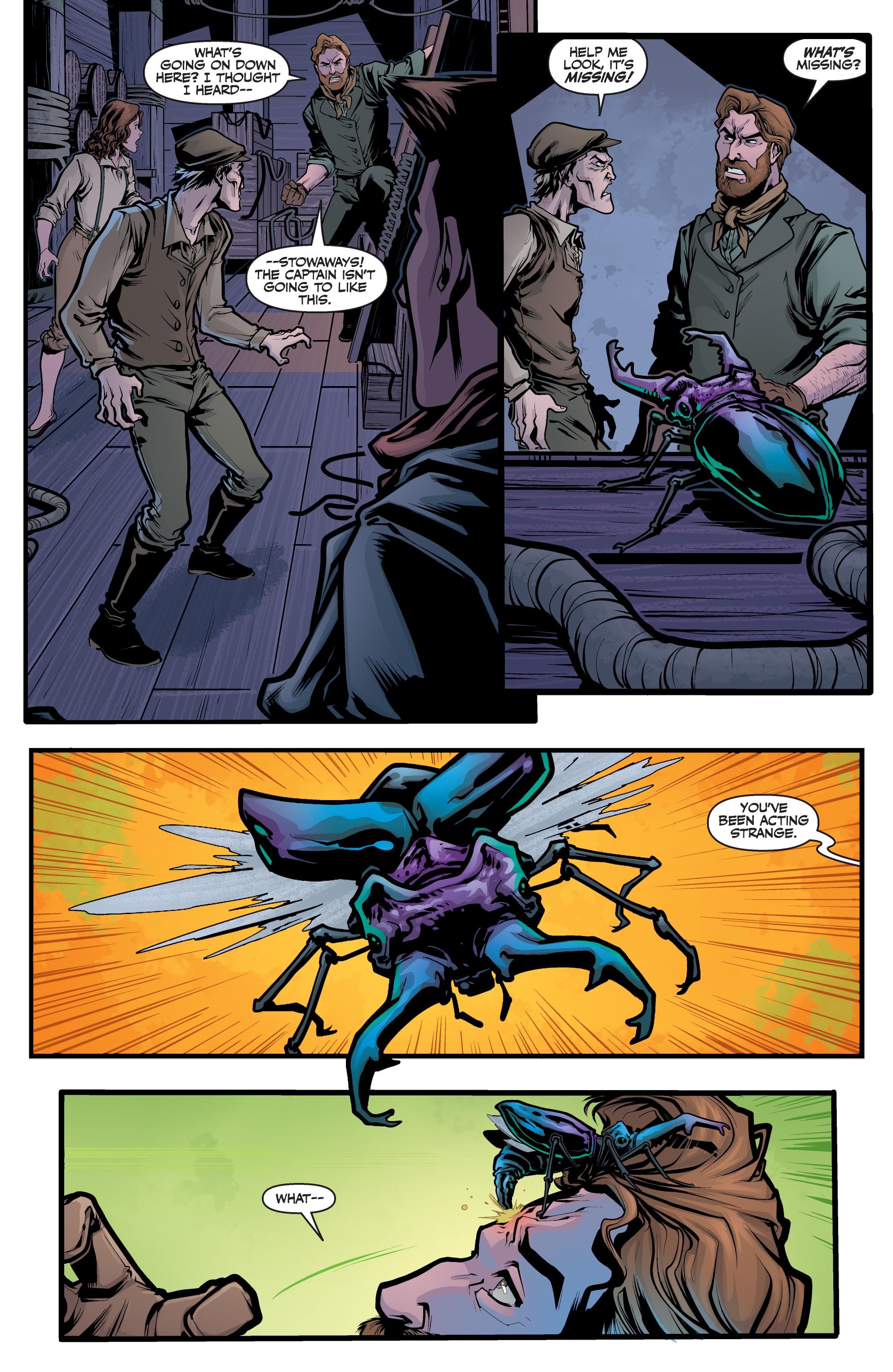 Read online Angel Season 11 comic -  Issue #6 - 12