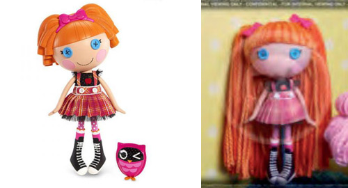 lalaloopsy bea yarn hair