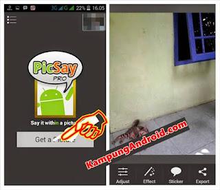 PicSay Pro Edit Levitasi