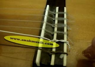 Cara Memasang Senar Gitar Akustik Nylon Yang Baik Dan Benar