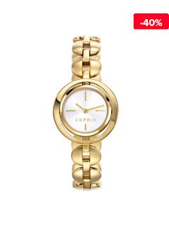 Ceas femei auriu Esprit Ilary ES108202002