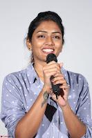 Poojita Super Cute Smile in Blue Top black Trousers at Darsakudu press meet ~ Celebrities Galleries 006.JPG