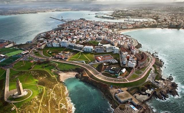 Pontos Turísticos de La Coruña