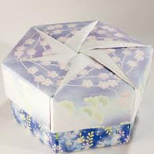 origami maniacs tomoko fuse�s origami hexagonal box by tomoko fuse Ball Tomoko Fuse instructions for the lid