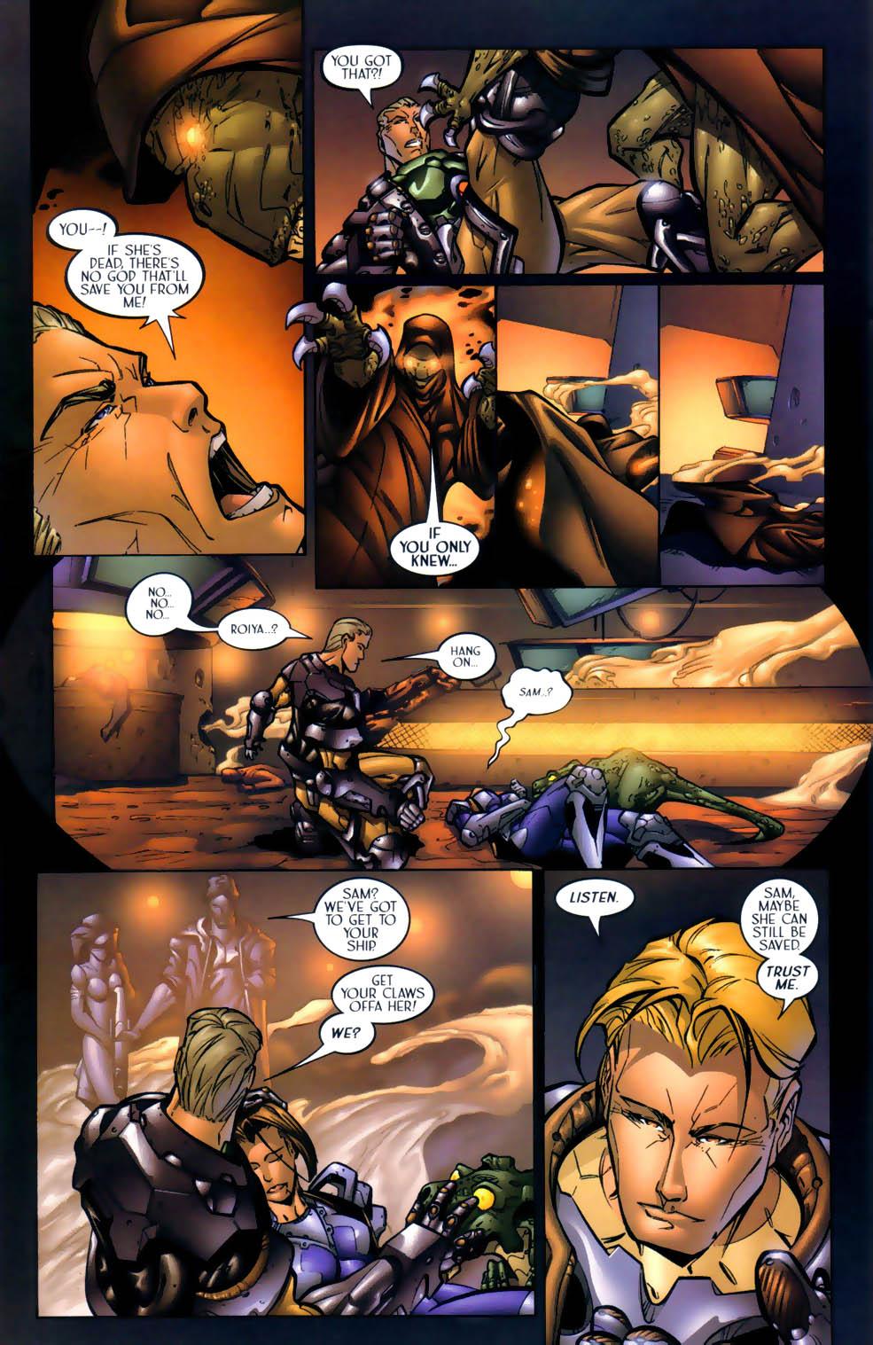 Read online Sigil (2000) comic -  Issue #1 - 25