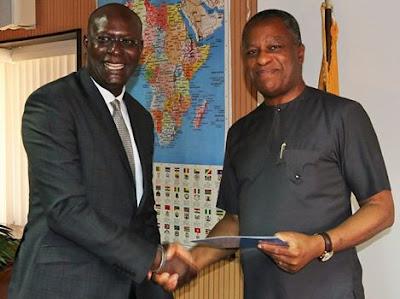 """Nigeria already feels like home"", said UNICEF's new Representative Mohamed Fall"