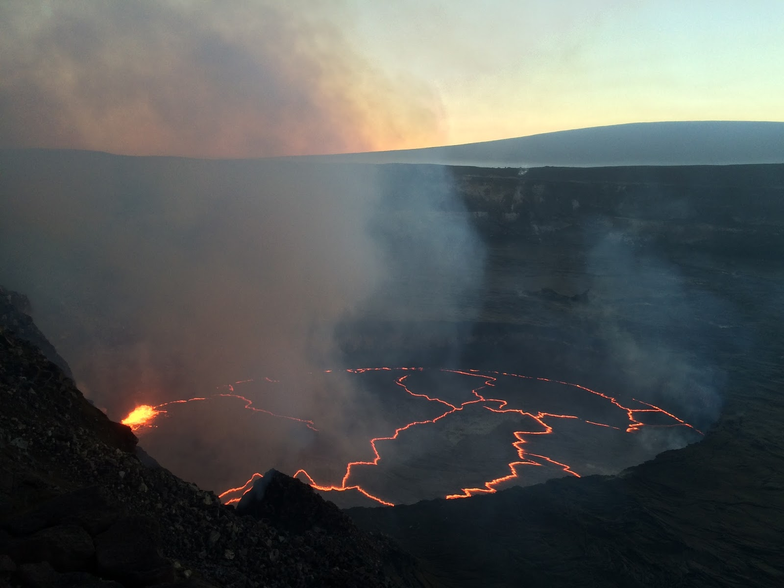 Hawaii Kilauea volcano