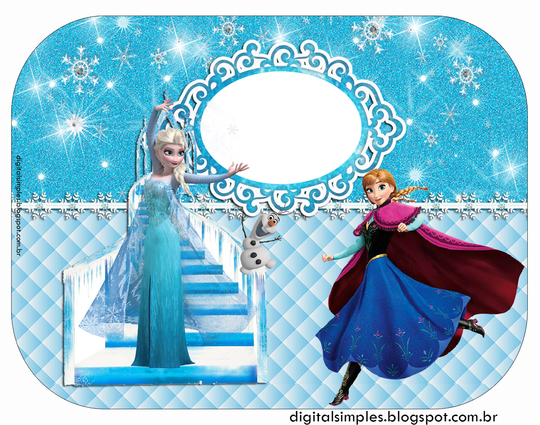 Festa Tema Frozen Para Imprimir Grátis