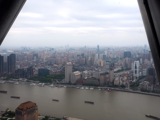 View from the Oriental Pearl Tower, Shanghai, China