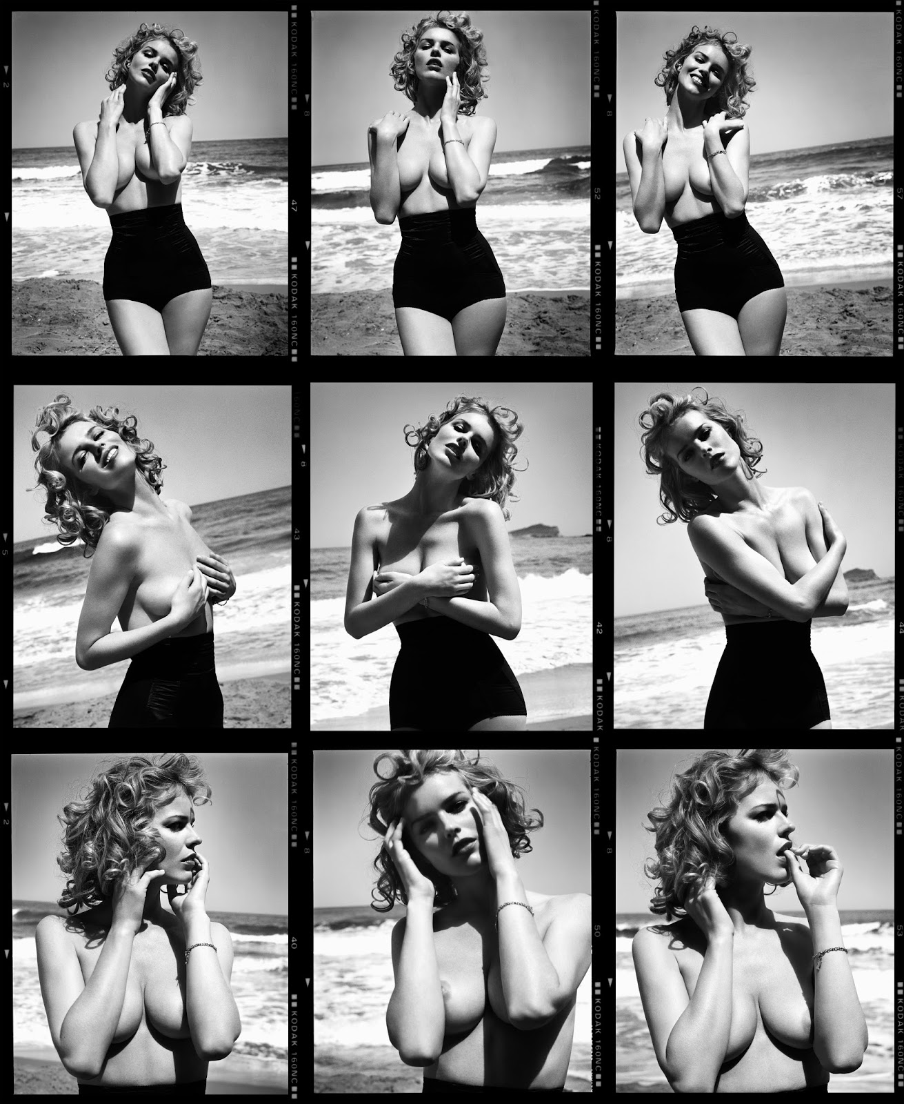 Eva Herzigova by Vincent Peters, 2008