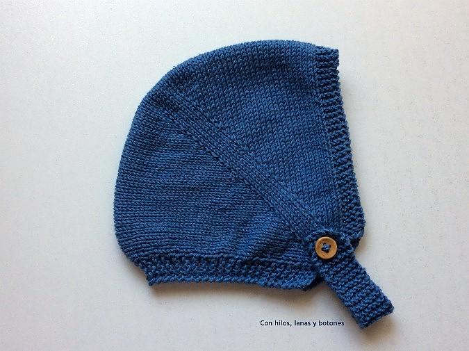 Con hilos, lanas y botones: DIY cómo hacer una capota a punto bobo para bebé paso a paso (patrón gratis)