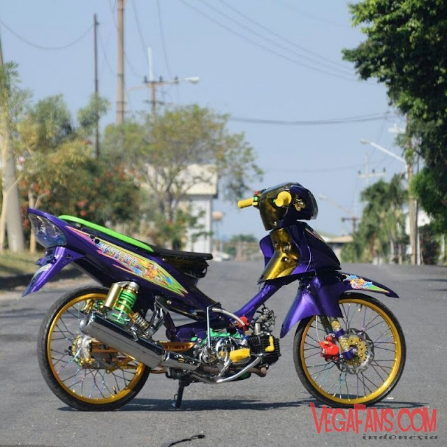 Jupiter Z Ungu Modif Standar Simple